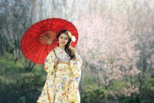 Geisha y las Flores